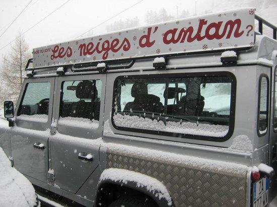 Les Neiges d'Antan : de taxi naar de skipistes