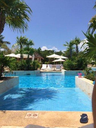 Fairmont Mayakoba: part of main pool
