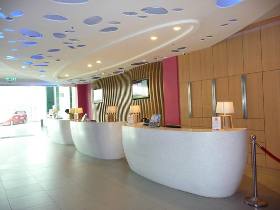 ibis Styles Kuala Lumpur Fraser Business Park: La réception