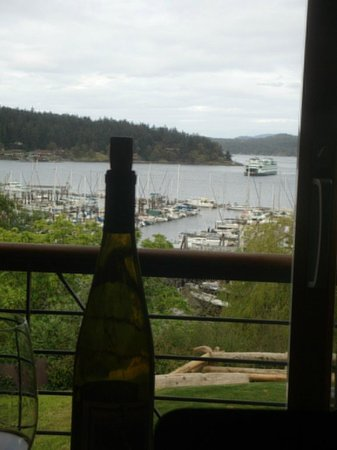 Friday Harbor House: View from our room
