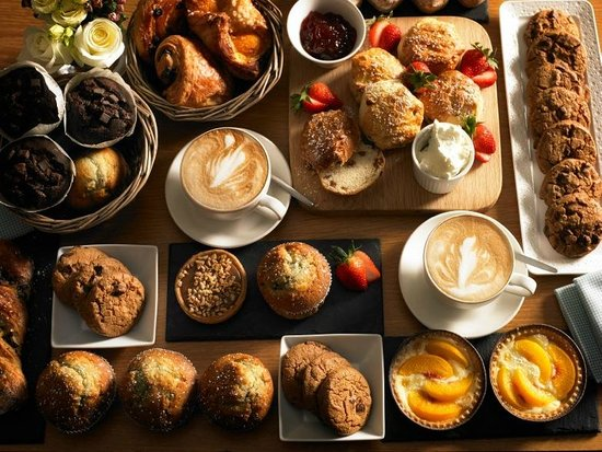 Clarion Hotel Liffey Valley: Selection of Freshly baked Pastries