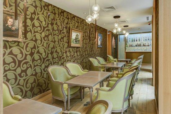 Hotel Pas de Calais: Lounge