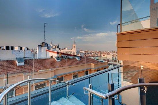 Hotel Indigo Madrid - Gran Via : Roof Top Terrace
