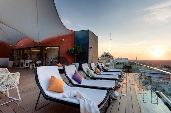 Hotel Indigo Madrid - Gran Vía: Roof Top Terrace