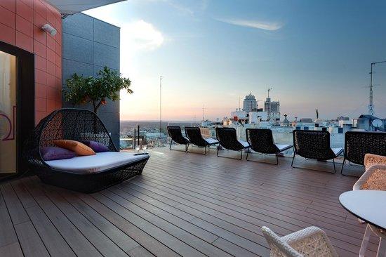 Hotel Indigo Madrid Gran Via Roof Top Terrace