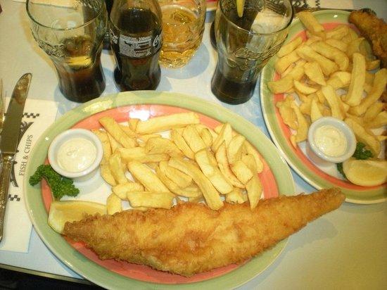 Poppies Fish & Chips: ..gnamm!!