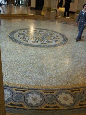 Centro Cultural Banco do Brasil São Paulo: Mosaico do chão