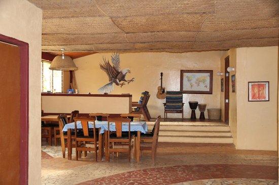 Mango Lodge: comedor