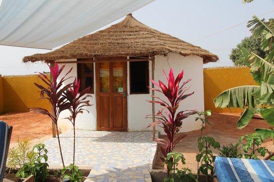Mango Lodge: Suite del jardin, habitación doble