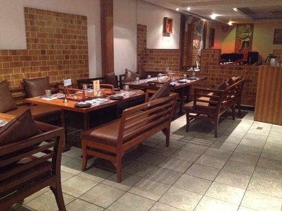 Barbeque Nation: comfortable seating
