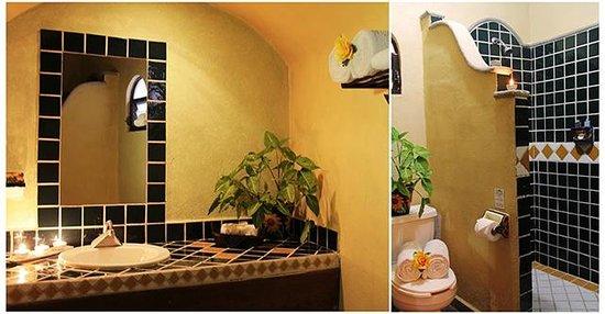 Hotel Hacienda del Caribe: BAÑO SINGLE KING / BATH SINGLE KING
