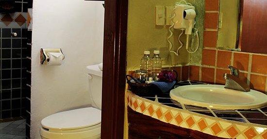 Hotel Hacienda del Caribe : BAÑO DOBLE QUEEN / BATH DOBLE QUEEN