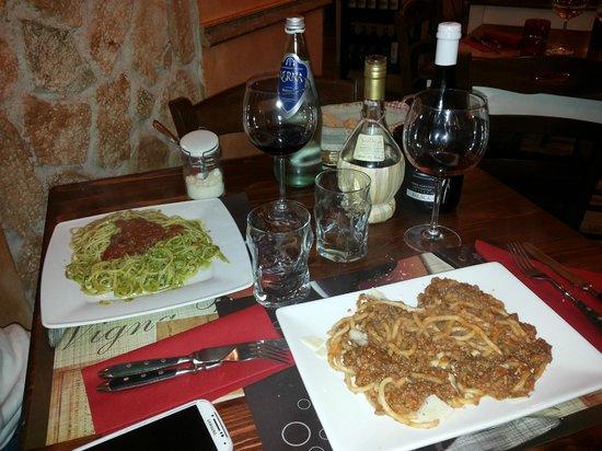 Trattoria Bada Ganzo: pici e spaghetti
