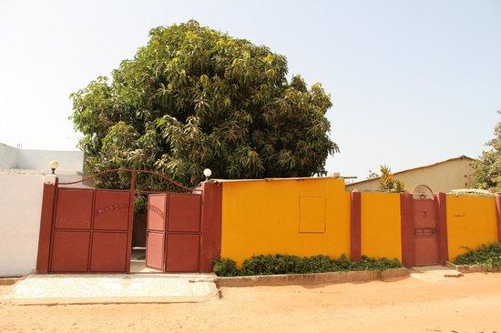 Mango Lodge: Puerta de entrada Lodge