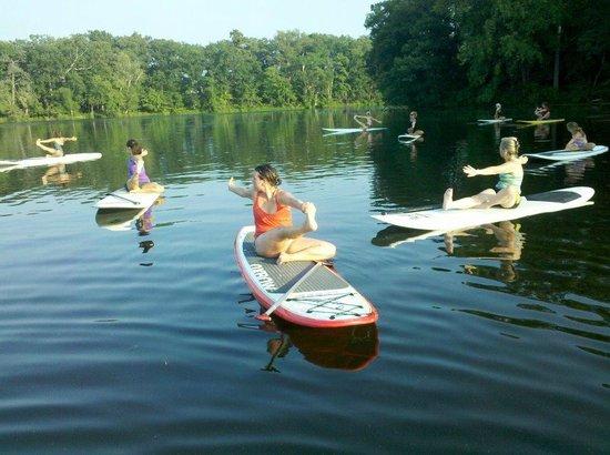 Delmarva Board Sport Adventures: SUP Yoga Delaware
