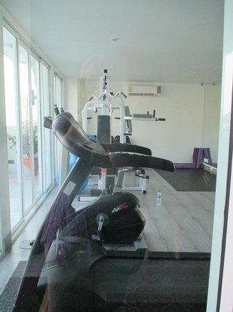 Chillax Resort: gimnasio