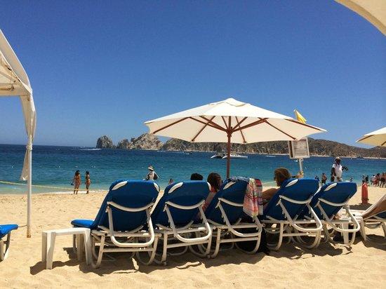 Pueblo Bonito Sunset Beach: Playa del hotel hermano ROSE