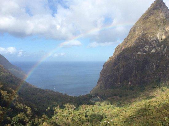Ladera Resort: Another rainbow