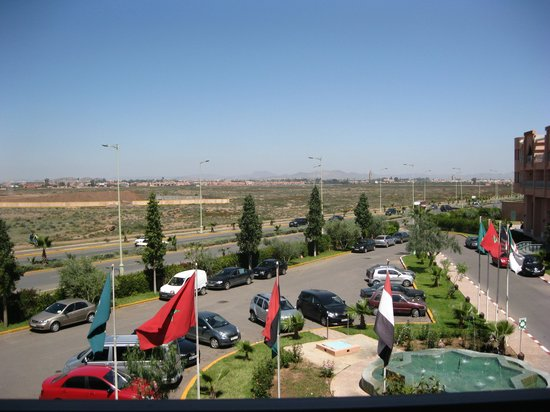 Ryad Mogador Agdal: Balcony View