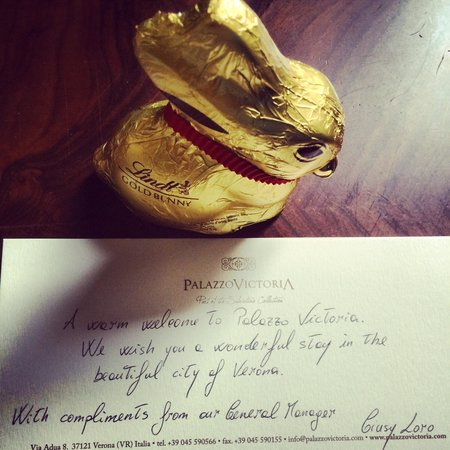 Palazzo Victoria: Welcome easter egg
