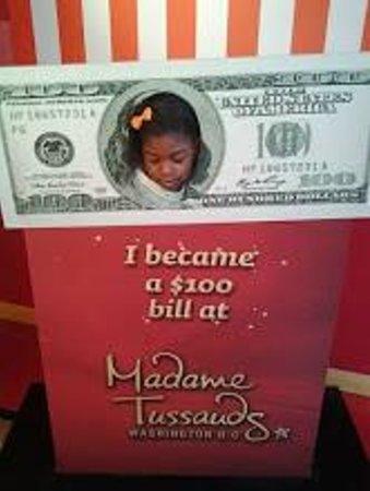 Madame Tussauds DC : $100 Bill