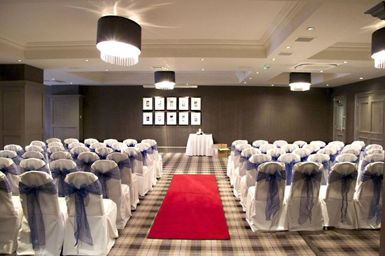 Best Western Glasgow South Eglinton Arms Hotel: Beautifully set for Baillie Wedding
