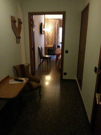 Hotel Jaume I: vue de la chambre