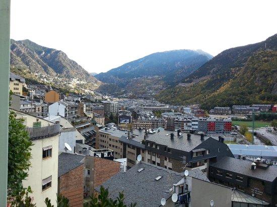 Hotel Jaume I: vue de la terrasse ...