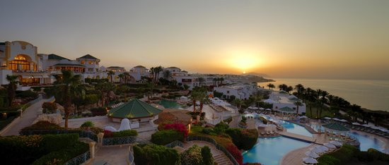 Hyatt Regency Sharm El Sheikh Resort : Htyatt Regency Sharm El Sheikh at Sunrise