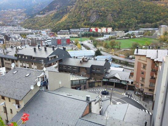 Hotel Jaume I: vue du la terrasse