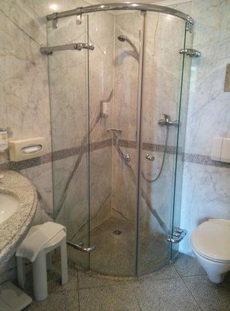 Sorat Insel-Hotel Regensburg: Shower