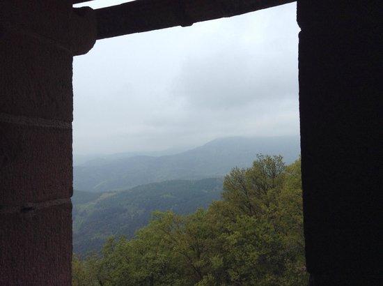 Regioscope Tours: view from Haut-Koenigsbourg