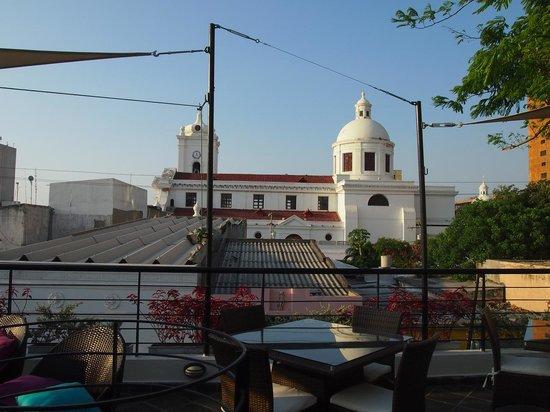 Casa de Leda - a Kali Hotel: Cathedral view