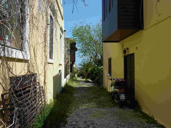 Medieval City: Small alleyway in the old town