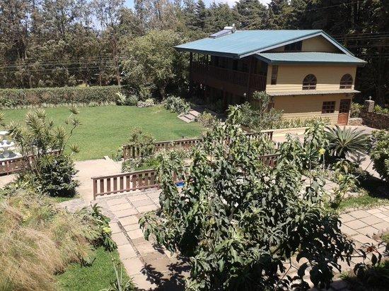 Monteverde Country Lodge: balcony