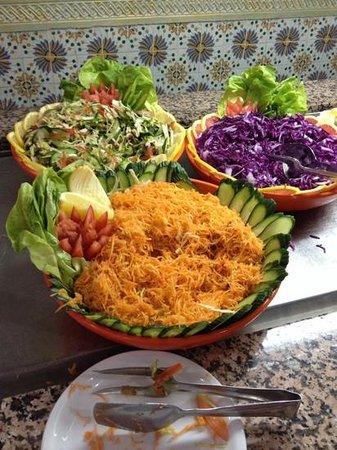 Houda Golf and Beach Club: salad