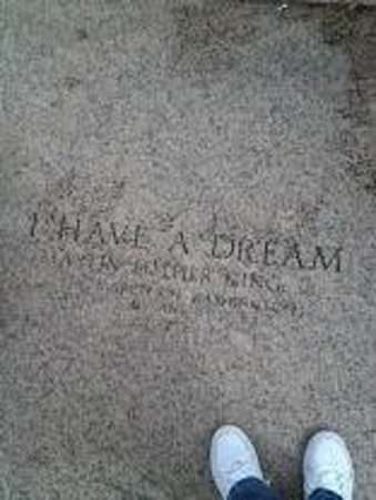 I HAVE A DREAM...LINCOLN MEMORIAL