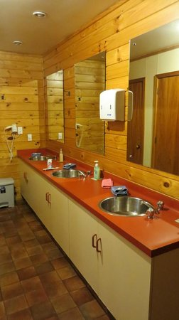 Altamont Lodge: The bathroom