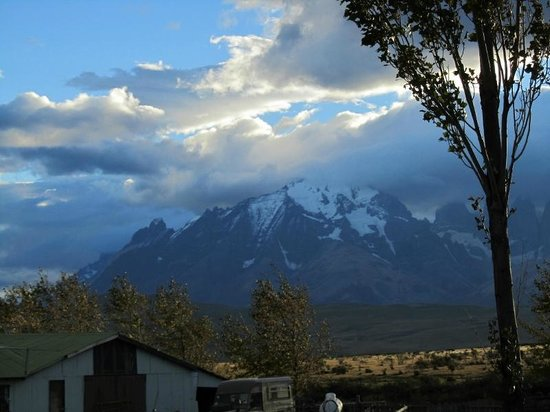 Estancia Tercera Barranca : View of Torres del Paine from ranch.