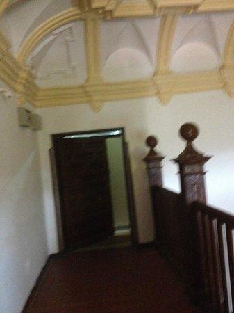 Hospederia Monasterio de Ucles : Entrada por la escalera en el piso superior