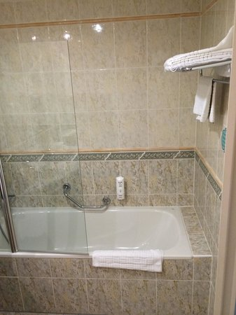 Ramada Prague City Centre: Bath tub room 320