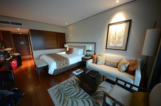 Shangri-La Hotel, Singapore: bedroom