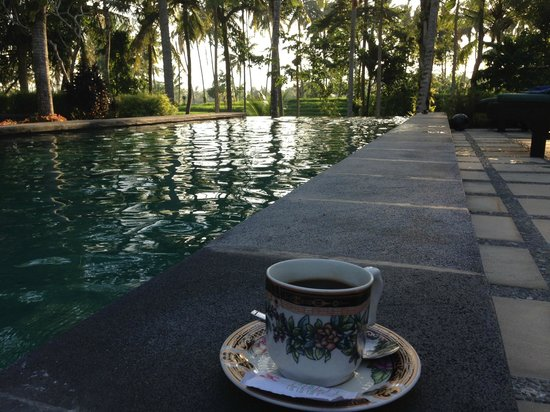 Junjungan Suite Villa : Afternoon tea!