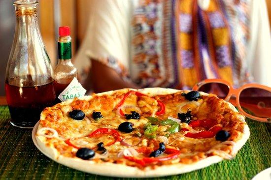Barefoot Bar & Brasserie: Pizza