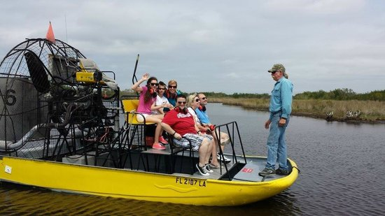 Speedy's Airboat Tours : Airboat