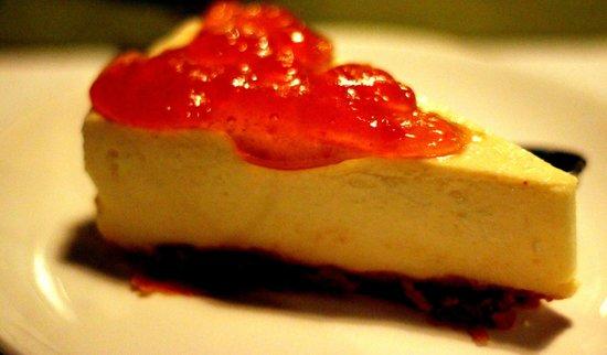 Barefoot Bar & Brasserie: Cheese cake