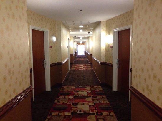 Comfort Suites Golden Isles Gateway Brunswick : Hallway to rooms