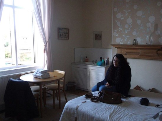 Amor Matris: The classic double room we stayed in