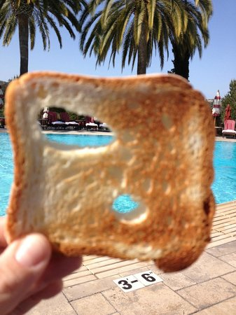 Fairmont Grand Del Mar : morning toast