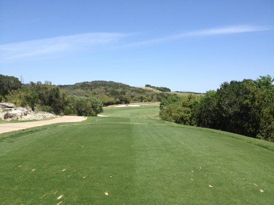Palmer Course at La Cantera: Number Nine Tee Box